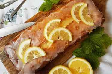 Zitronen Kastenkuchen von Cake Confession