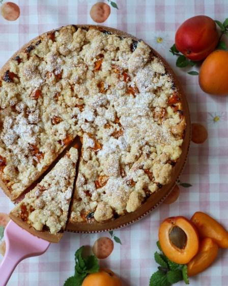Aprikosen Streuselkuchen von Cake Confession