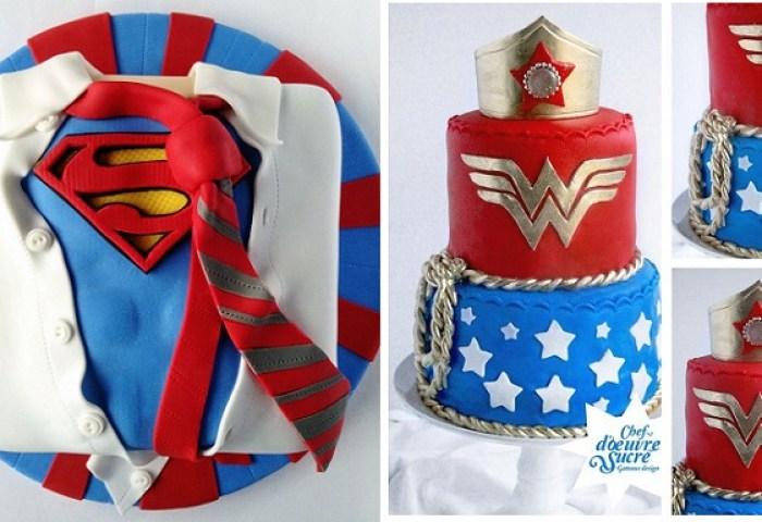 Superhero Cakes Cake Geek Magazine