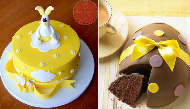 Easter Egg Cake Decorations