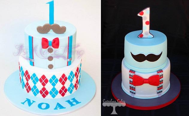 Nichol First Birthday Car Cake