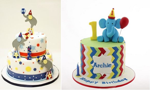 Image Of 15 Baby Boy First Birthday Cake Ideas