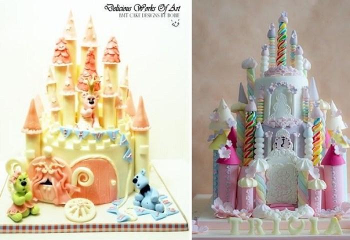 Princess Castle Cakes Cake Geek Magazine