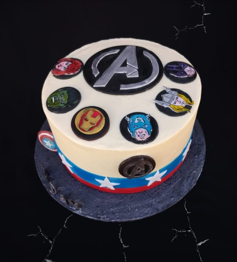 avengers cake  #cakes and other stuff