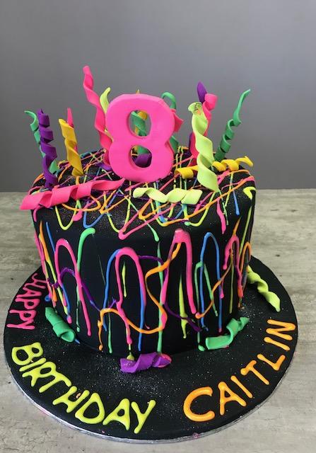 Glow In The Dark Cake :