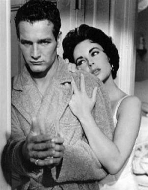 Paul Newman & Elizabeth Taylor - Cat on a Hot Tin Roof (1958)