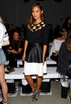 Jamie Chung at the Kerigarn S/S16 Show