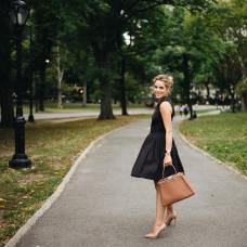 Julia Hengel from Gal Meets Glam during the New York Fashion Week