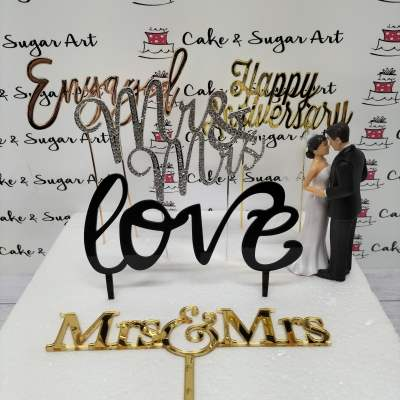 Wedding/Anniversary Toppers