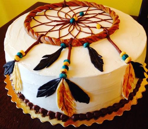 Dreem Catcher Cake