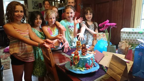 Mermade birthday party