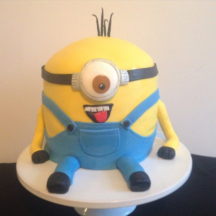 Minion cake.