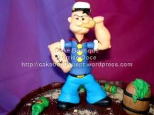 Bolo do Popeye