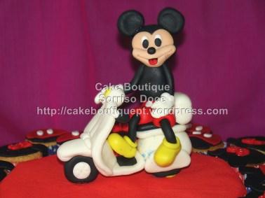Cupcakes do Mickey
