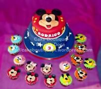 Bolo da Festa do Mickey