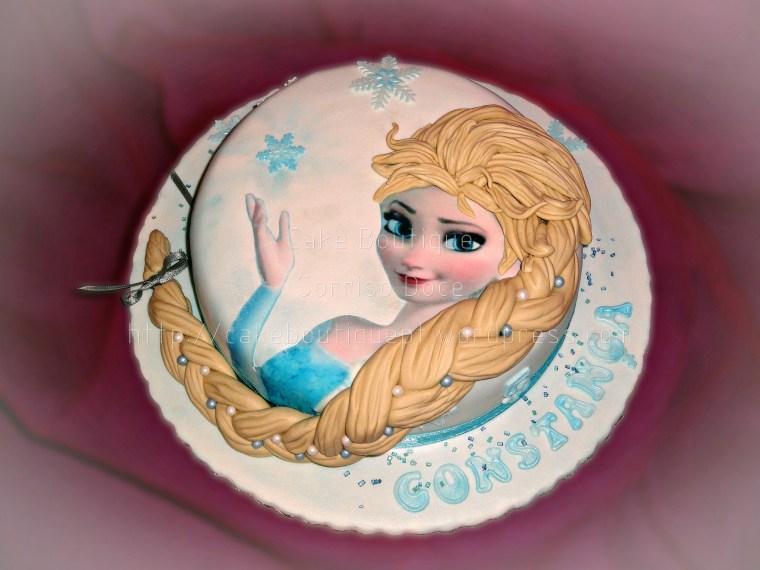 Bolo Gelado - Frozen
