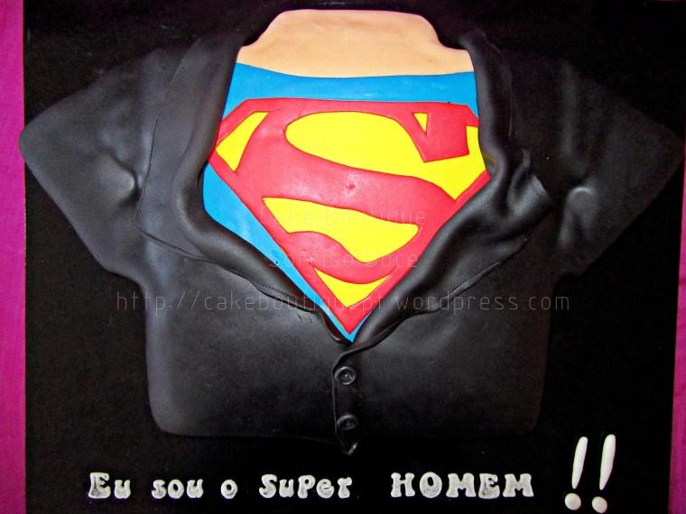 Bolo do Super Homem