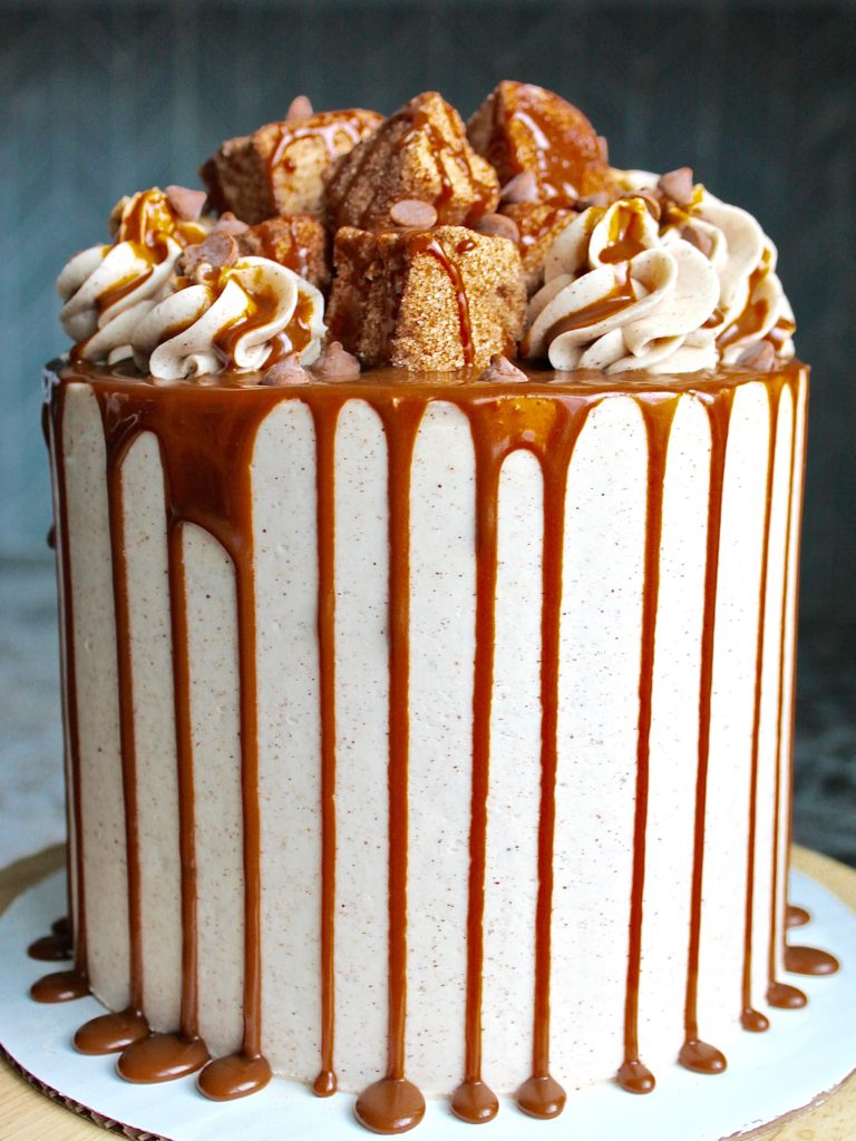The Most Delicious Churro Cake Cake By Courtney