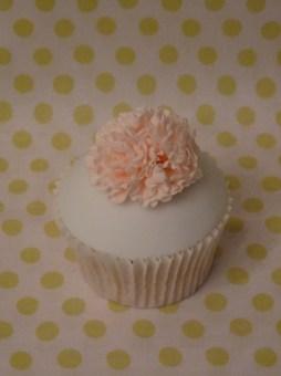 Carnation cupcake