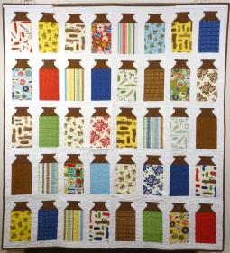 Milk cow kitchen patchwork quilt