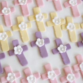 CupCake Topper - Communion Cross