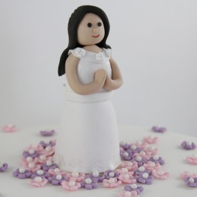 Fondant Communion Cake Topper