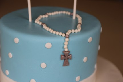 First Holy Communion Cake - Dove Themed