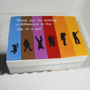 Girl Scout Leadership Cake