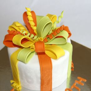 Gift Wrapped Cake