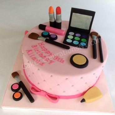 Makeup Birthday Cake | Cake Celebrations