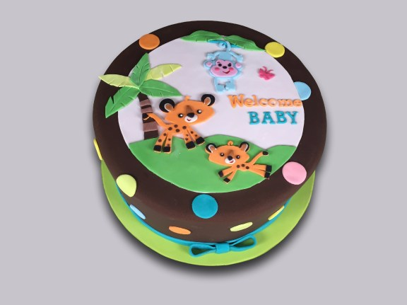 Jungle Theme Baby Shower Cake Cake Celebrations