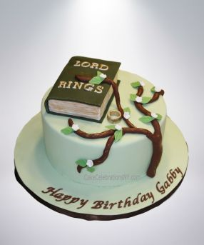 Lord Of The Rings Cakes