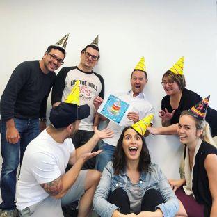 Cette semaine on célébrait un anniversaire bien spécial : le 8e de Cake#specialbirthday