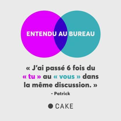 Chez Cake, nous faisons toujours preuve de courtoisie. 😅🤷♂️