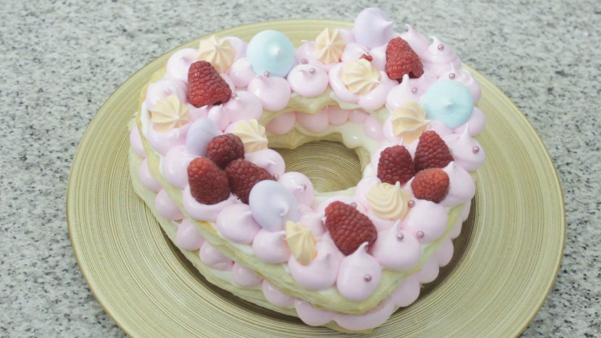 Tartaleta de corazón para San Valentín post