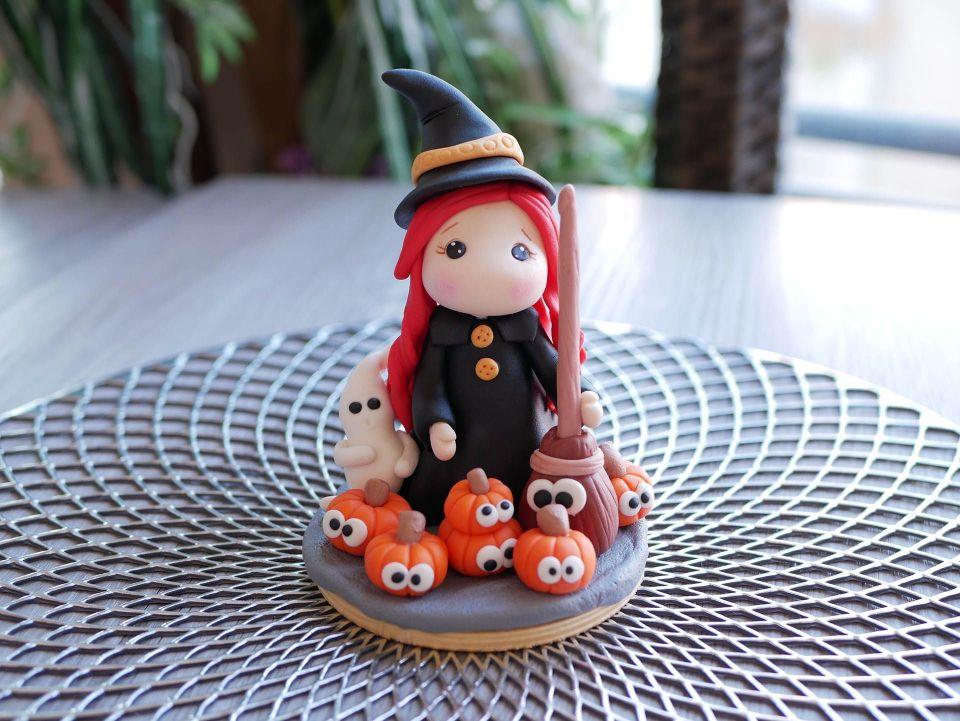 Curso de modelado de halloween con fondant
