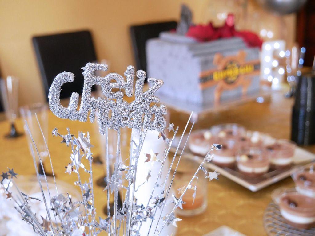 Tarta y mesa dulce de juego de tronos