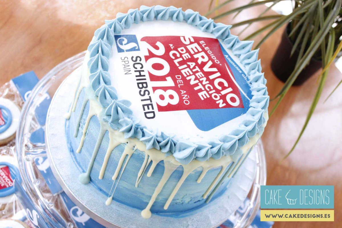 Drip cake - Schibsted Spain