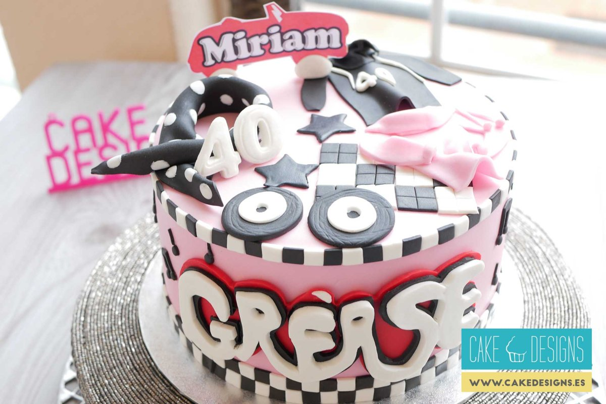 Tarta de Grease