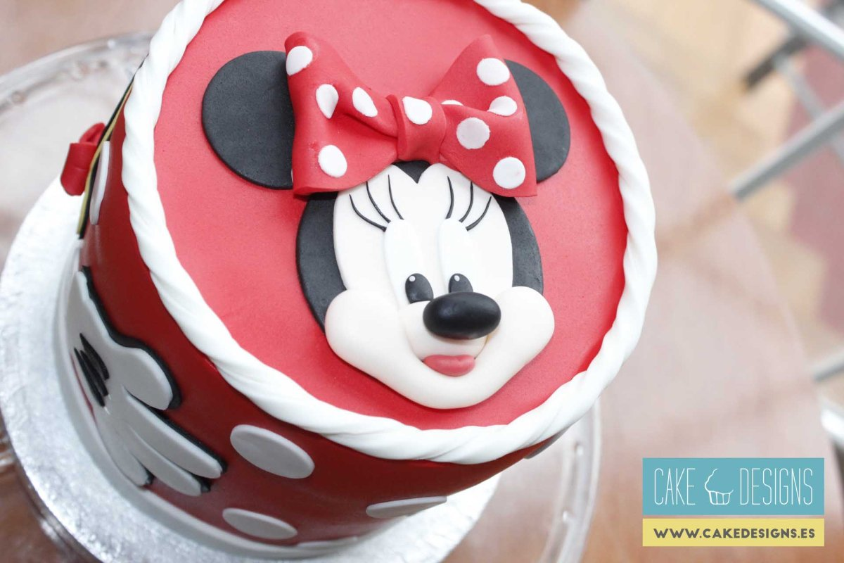 Tarta de Minnie Mouse