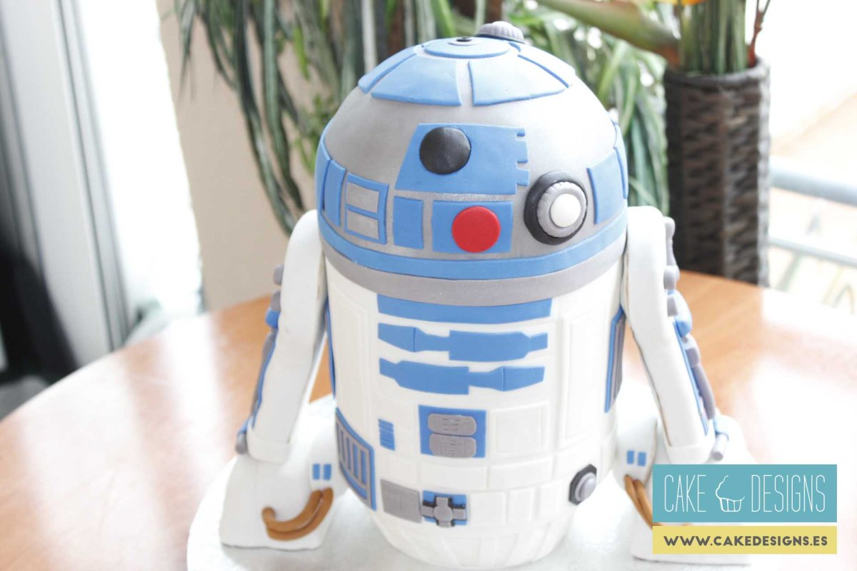 Tarta de R2D2 - Star Wars