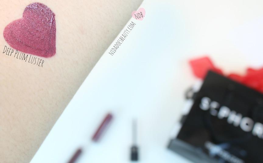 Sephora's Dark Plum Luster Matte Liquid Lipstick