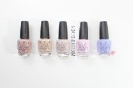 Favorite OPI polishes, OPI polishes, Don't bossanova me around, pretzel my buttons, mod about you, tickle my francey, you're such a budapest