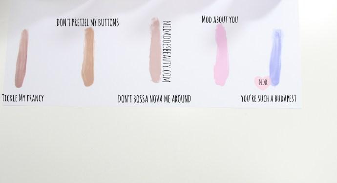OPI Nail polishes, OPI, Favorites, Spring, Pastel, Nude, nail colors, laquer, love
