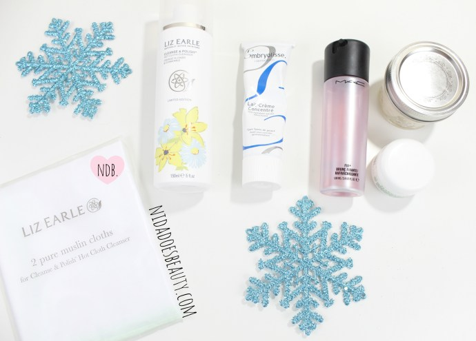 Skincare, Dry skin routine, winter skincare, how to help dry skin, winter dry skin help, Embryolisse lait crem, rosewater, natural, DIY rosewater, coconut oil, eye cream, liz earle cleanse and polish, makeup, beauty, beauty blog