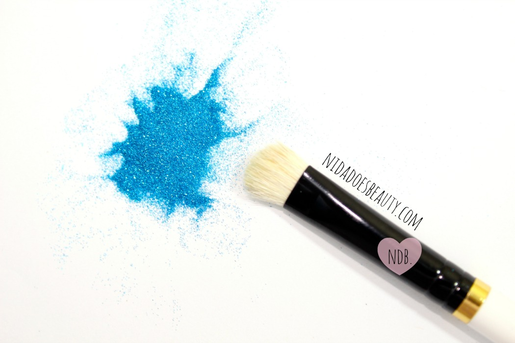 How To Easily Apply Loose Glitter Eyeshadow For Beginners Caked