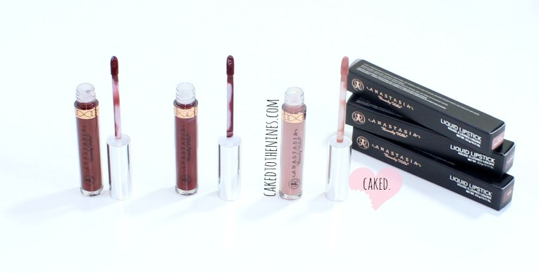 Anastasia Beverly Hills Liquid Lipsticks, Pure Hollywood, Vamp, Heathers, beauty blog, liquid lipsticks, review, swatches