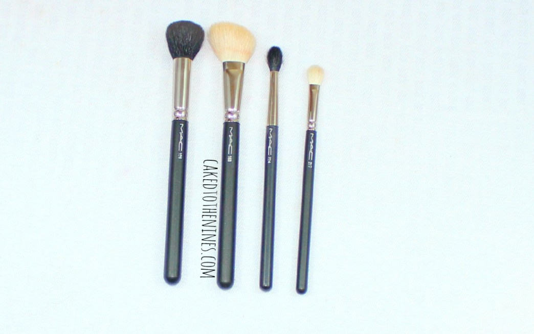 MAC Makeup Brush Essentials, beauty blog, MAC brushes, MAC brush reviews, MAC 217, MAC 224, MAC 168, MAC 109, MAC essentials