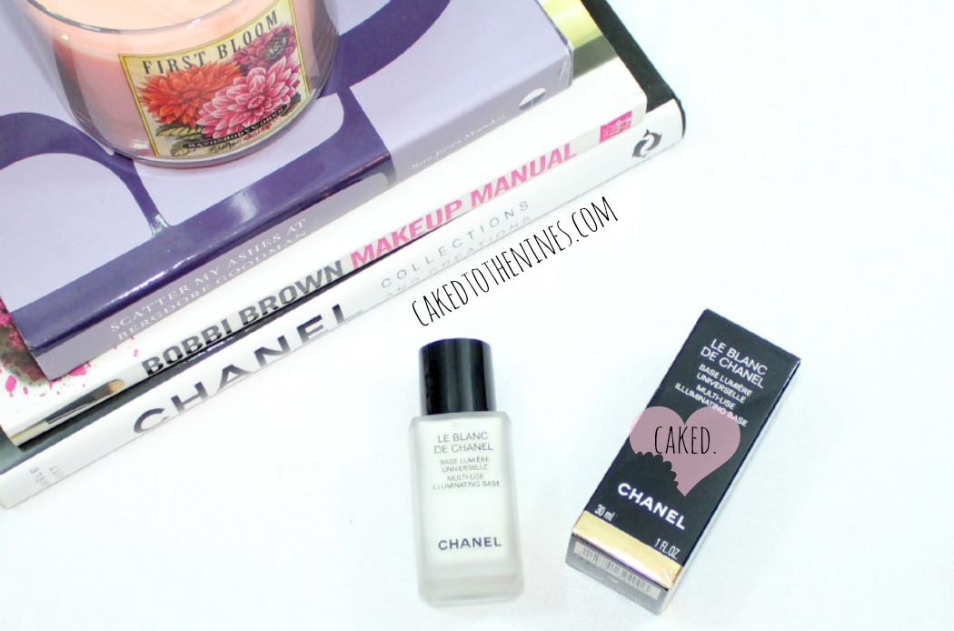 Chanel le blanc review, chanel le blanc de chanel, chanel review, illuminating base, makeup review, le blanc de chanel review