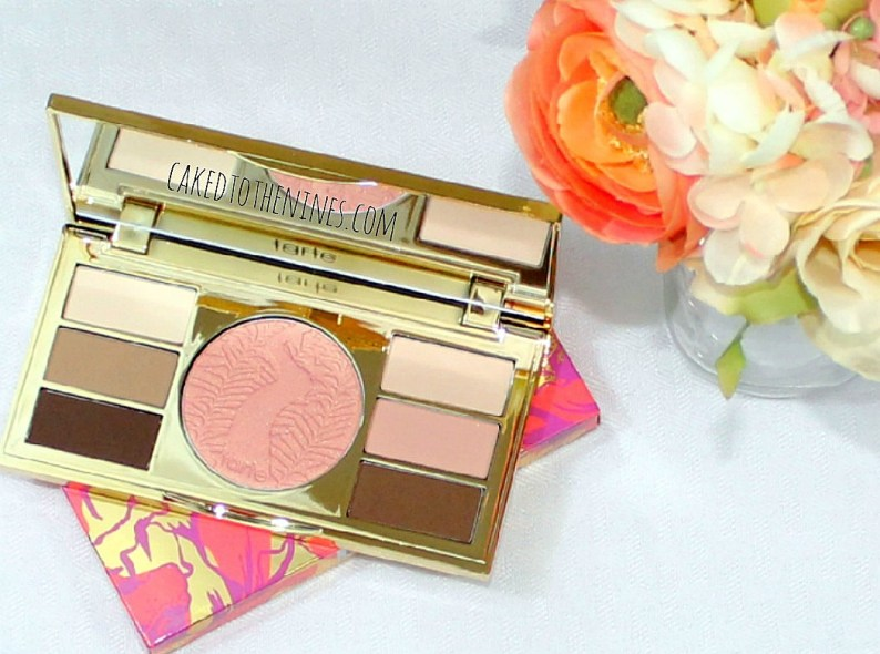 Tarte Poppy Picnic palette review, palette review, tarte palette review, poppy picnic review